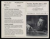 view George Tsutakawa papers, 1963-1991 digital asset number 1
