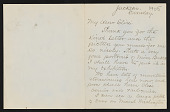 view Illustrated letter from Charles Henry Turner, Jackson, New Hampshire to his granddaughter Elsie digital asset number 1