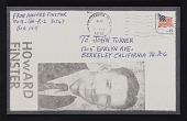 view Howard Finster postcard to John Turner digital asset number 1