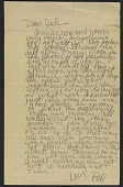 view Robert Rauschenberg letter to Jack Tworkov digital asset number 1