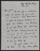 view Franz Kline letter to Jack Tworkov digital asset number 1