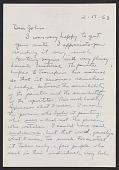 view Jack Tworkov letter to John Ashbery digital asset number 1