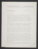 view Josef Albers, Black Mountain, N.C. letter to Inez Cunningham Stark digital asset number 1
