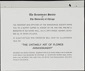 "view Invitation for ""The Untimely Art of Flower Arrangement"" talk digital asset number 1"