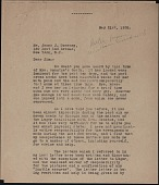 view Fernand Léger letter to James Johnson Sweeney digital asset number 1
