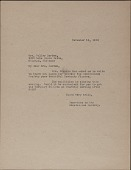 view Renaissance Society at the University of Chicago letter to Mrs. Waller Borden, Chicago, Illinois digital asset number 1