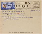 view F. Valentine Dudensing telegram to Mrs. Martin Schutze digital asset number 1
