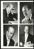 view Arbit Blatas with Eugene Ormandy photos on verso digital asset number 1
