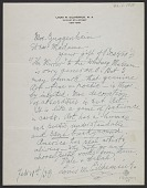 view Louis M. (Louis Michel) Eilshemius, New York, N.Y. letter to Peggy Guggenheim digital asset number 1
