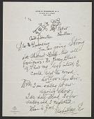 view Louis M. (Louis Michel) Eilshemius, New York, N.Y. letter to F. Valentine Dudensing, New York, N.Y. digital asset number 1
