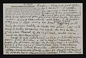view Lucy Lippard letter to Kathy Vargas, San Antonio,Texas digital asset number 1