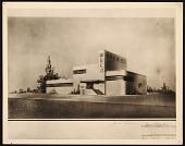 view Radio Corporation of America transmitter building designed by John Vassos digital asset number 1