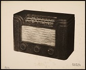 view Rendering of a table radio designed by John Vassos digital asset number 1