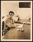 view John Vassos in his office at RCA digital asset number 1