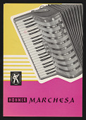 view Advertisement for M. Hohner Marchesa model accordion digital asset number 1