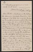 """view Letter from Elihu Vedder to """"Chick"""" (Caroline Vedder) digital asset: pages"""