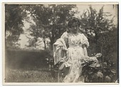view Bessie Potter Vonnoh in a garden digital asset number 1