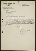 view Curt Valentin's art sales permit from the Reichskammer der bildenden kunste, Berlin digital asset number 1