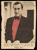 view Newspaper clipping of photo of Samuel Wagstaff digital asset number 1