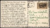 view Richard Tuttle, New York, N.Y. postcard to Samuel J. Wagstaff, Detroit, Mich. digital asset number 1