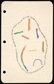 view Richard Tuttle mail art to Samuel J. Wagstaff digital asset number 1