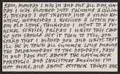 view Ad Reinhardt postcard to Samuel J. Wagstaff digital asset number 1