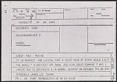view James Lee Byars telegram to Mao Peking digital asset number 1