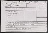 view James Lee Byars telegram to Queen Elizabeth II digital asset number 1