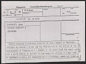 view James Lee Byars telegram to Dr. Jerzy Banach, the Director of the National Museum of Krakow digital asset number 1