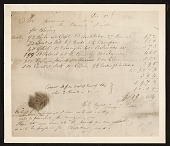 view Reproduction of a Currier & Ives receipt digital asset number 1