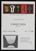 view Press release for Forrest Bess exhibition at Museum Ludwig digital asset number 1