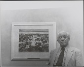 view Portraits, Abraham Walkowitz with Art digital asset: Portraits, Abraham Walkowitz with Art