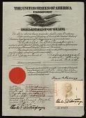 view Charles E. Waltensperger's passport digital asset number 1