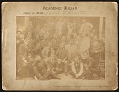 view Class portrait of the Academie Julian with Charles Waltensperger as a student digital asset number 1