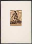 view Bookplate, sower city background digital asset number 1