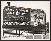 view <em>Army at War</em> exhibition advertisement digital asset number 1