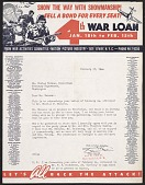 view Sam Shain, New York, N.Y. letter to Forbes Watson, Washington, D.C. digital asset number 1
