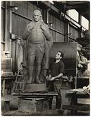 view William Zorach with sculpture digital asset number 1