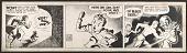 """view Coulton Waugh <em>Dickie Dare</em> comic strip, """"Satan's deflation"""" digital asset number 1"""