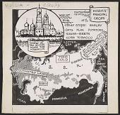 "view Coulton Waugh <em>Junior editors</em> comic strip, ""Russia's principal crops"" digital asset number 1"