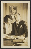 view Elizabeth and Coulton Waugh seated at a table digital asset number 1
