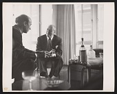 view Photograph of Harry Callahan and Ludwig Mies van der Rohe digital asset number 1