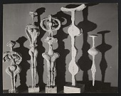 view Photograph of sculptures by Hugo Weber, Chicago digital asset number 1
