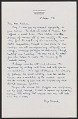 view Lloyd Goodrich letter to Mrs. Max Weber digital asset: page