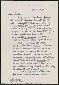 view Max Weber letter to Forbes Watson digital asset number 1