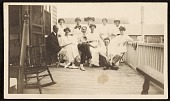 view Group of unidentified people in Provincetown digital asset number 1