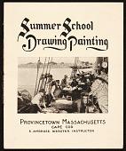 view Edwin Ambrose Webster summer art school brochure digital asset number 1