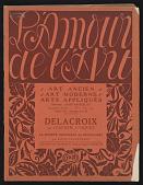 view Periodicals, L'Amour de L'Art digital asset: Periodicals, L'Amour de L'Art: 1921