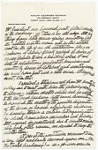 view Adolph Weinman's notes from a speech to the President of the National Academy of Design and Members digital asset: page 1