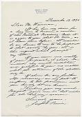 view Joseph Emile Renier to Adolph A. Weinman digital asset: page 1